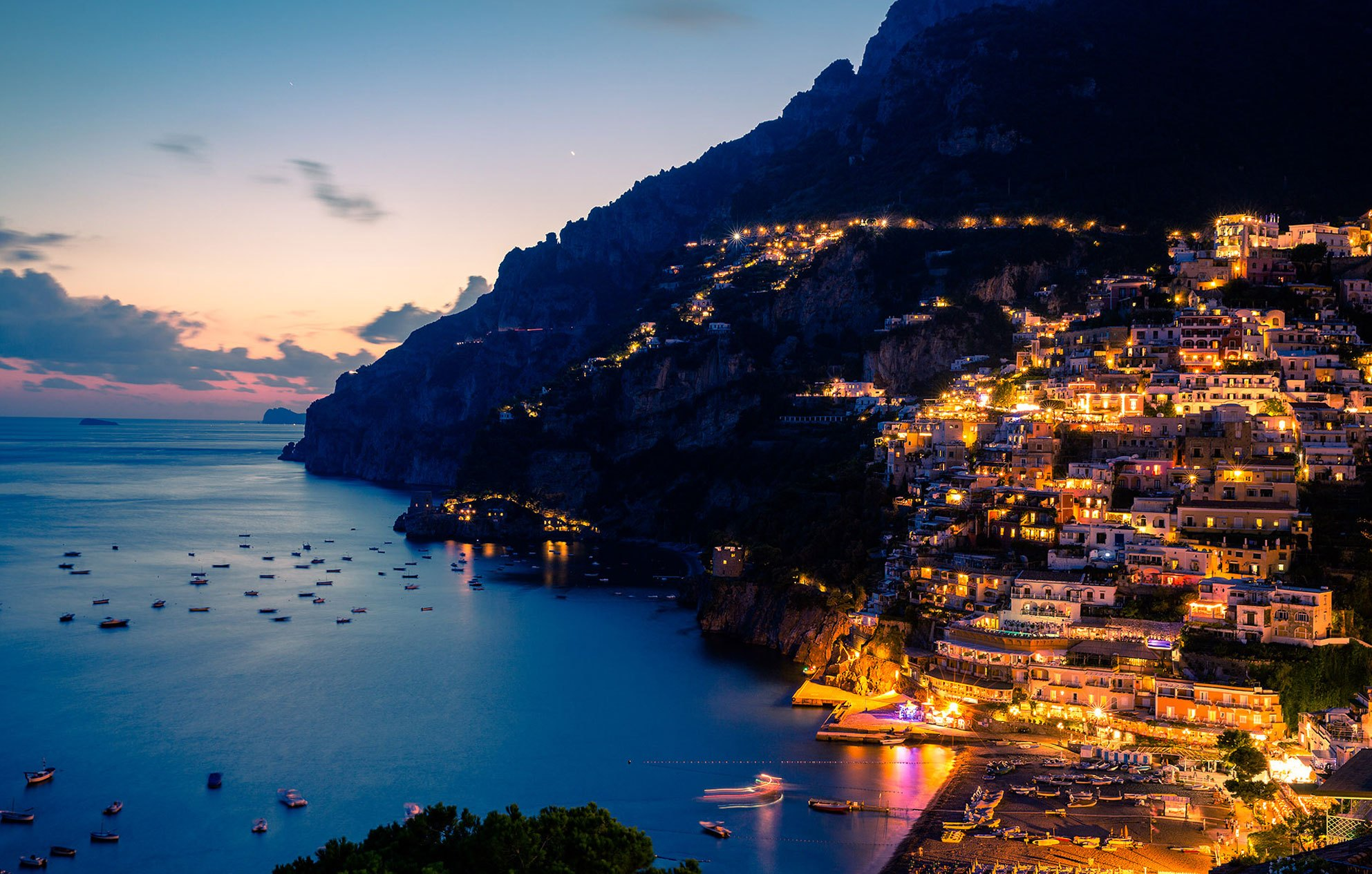 Amalfi-Coast-At-Night-Photo